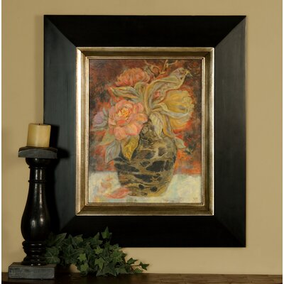 'Floral Bunda' Painting Print Shadow Box