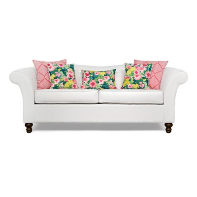Conners Sofa Upholstery: Big Sir Ivory / McCambo Strawberry / Rousham Romp