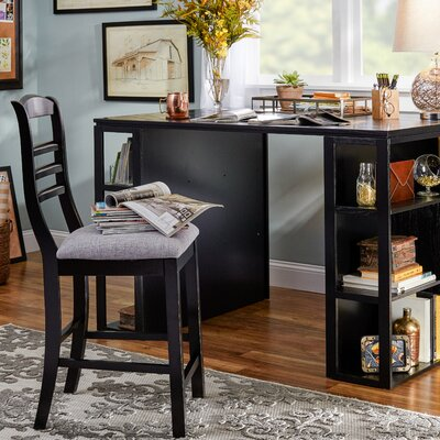 Trexlertown 36 Bar Stool Finish: Black