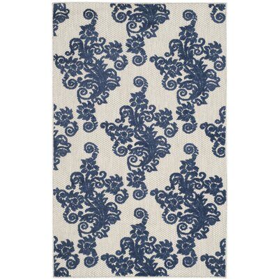 Brandonville Ikat Indoor/Outdoor Area Rug Rug Size: Rectangle 33 x 53