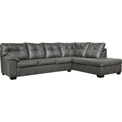 Camden Sectional Upholstery: Stallion Charcoal