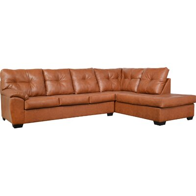 Camden Sectional Upholstery: Stallion Chestnut
