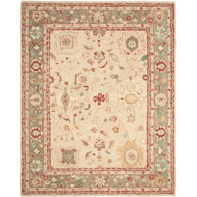 Pritchard Hand Knotted Area Rug Rug Size: Rectangle 8 x 10