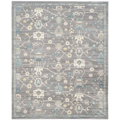Croghan Gray Area Rug Rug Size: Rectangle 8 x 10