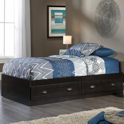 Rossford Twin Storage Platform Bed Color: Estate Black