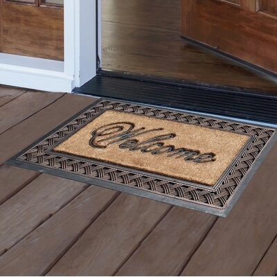 Tamesbury Rubber Brush Doormat