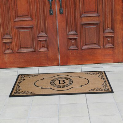 Abbot Bridge Monogrammed Doormat Letter: B