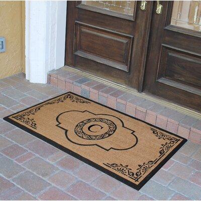 Abbot Bridge Monogrammed Doormat Letter: C