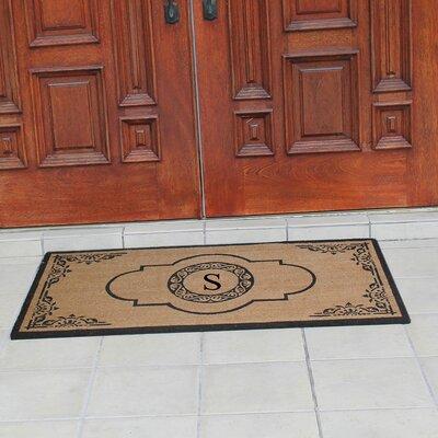 Abbot Bridge Monogrammed Doormat Letter: S