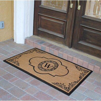 Abbot Bridge Monogrammed Doormat Letter: W