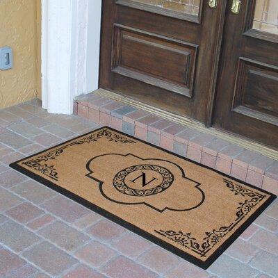 Abbot Bridge Monogrammed Doormat Letter: N