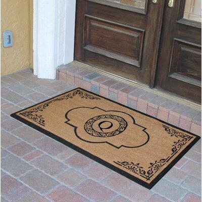 Abbot Bridge Monogrammed Doormat Letter: Q