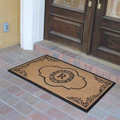 Abbot Bridge Monogrammed Doormat Letter: R