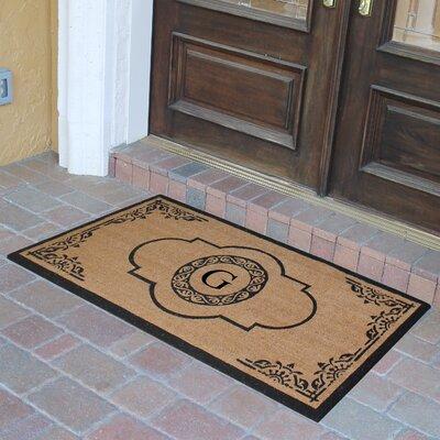 Abbot Bridge Monogrammed Doormat Letter: G