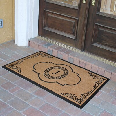 Abbot Bridge Monogrammed Doormat Letter: J