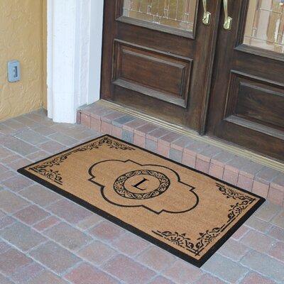 Abbot Bridge Monogrammed Doormat Letter: L