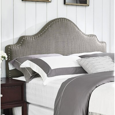Clara Upholstered Panel Headboard Size: King/California King, Upholstery: Granite