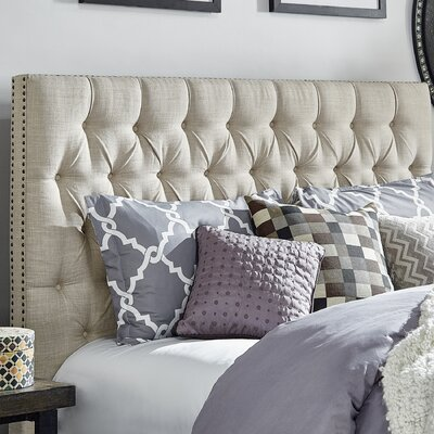 Westminster Upholstered Panel Headboard Size: Queen
