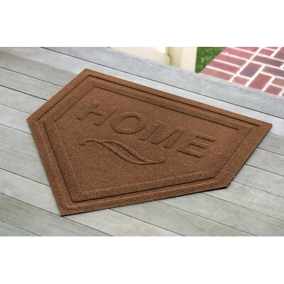 Engelmann Home Plate Doormat Color: Dark Brown