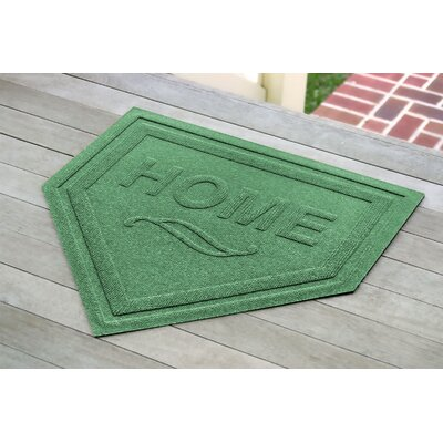 Engelmann Home Plate Doormat Color: Light Green
