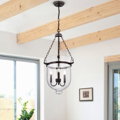 Erdmann 3-Light Bowl Pendant