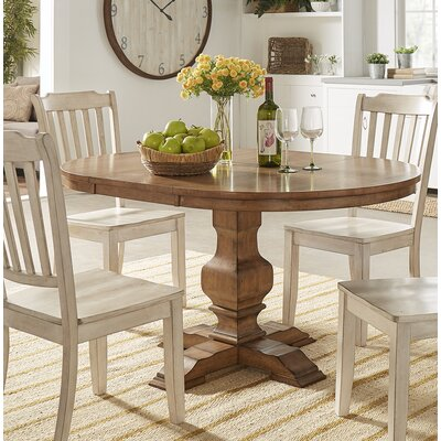 Fortville Extendable Dining Table Base Color: Oak