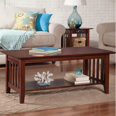 Danube Coffee Table Color: Walnut