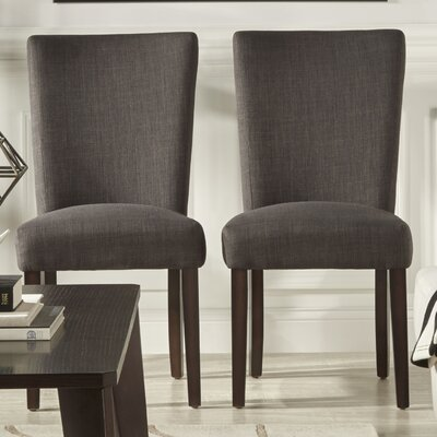 Lancaster Parsons Chair Finish: Dark Grey