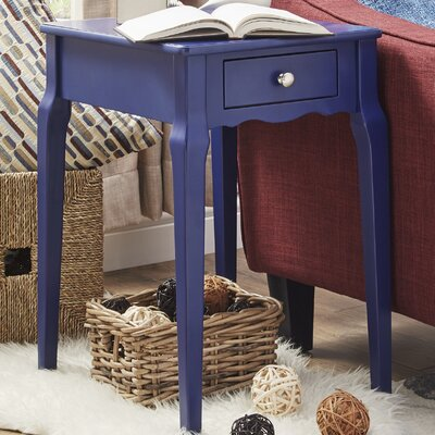 Pinckney End Table With Storage� Color: Twilight Blue