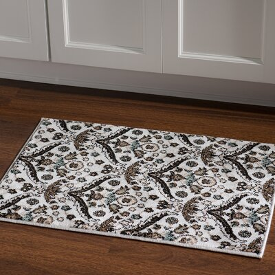Bluffridge Blue Area Rug Rug Size: Rectangle 2 x 3