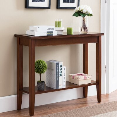 Stonington Console Table Color: Sienna
