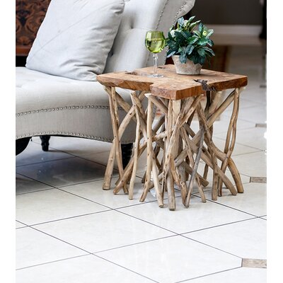 Habibi Teak End Table