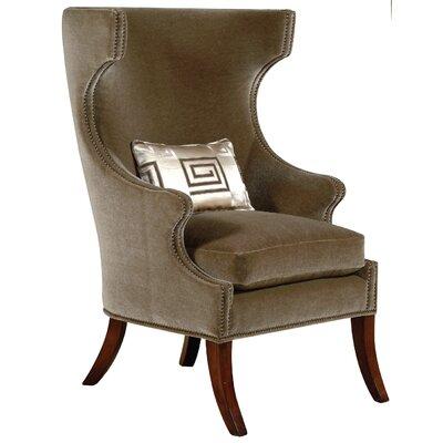 Garbo Keepsake Wingback Chair Upholstery: Keepsake Frost