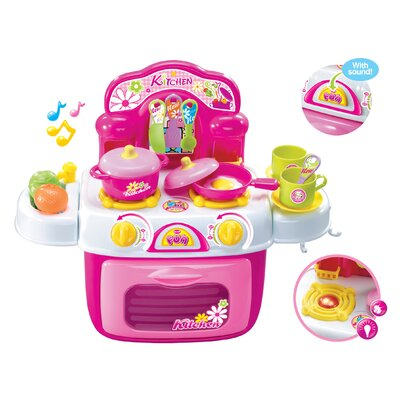 My First Portable Kitchen Play Set BR008-87
