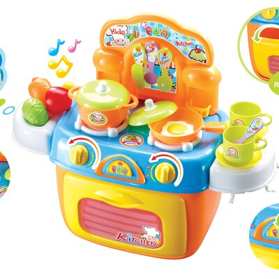 My First Portable Kitchen Play Set BR008-97