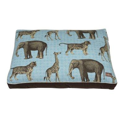 Safari Indoor/Outdoor Floor Pillow Color: Aquamarine