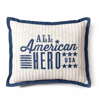American Backroads Cotton Throw Pillow