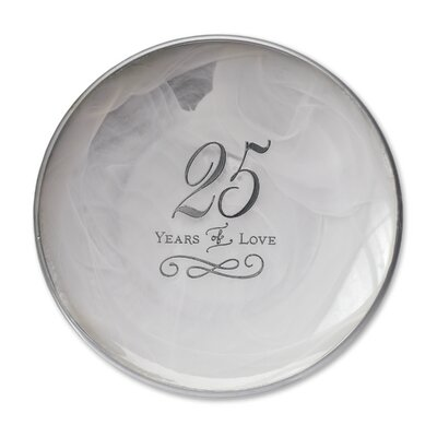 From This Day Forward 25th Anniversary Decorative Plate 1003170050
