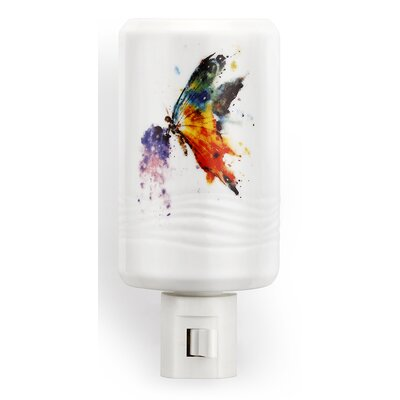 Big Sky Carvers Kaleidoscope Butterfly Night Light