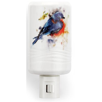Big Sky Carvers Springtime Bluebird Night Light