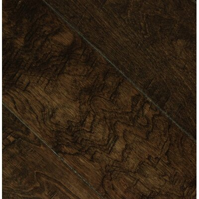 Pioneer 5 Engineered Birch Hardwood Flooring in Bison