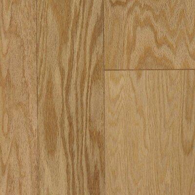 Random Width Engineered Red Oak Hardwood Flooring in Chablis