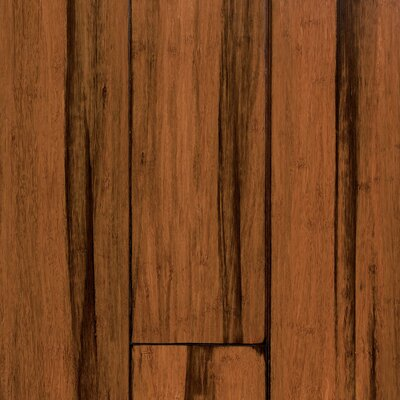 Expressions 5-1/4 Solid Bamboo  Flooring in Antique Black