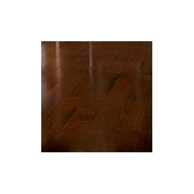 American Vintage 5 Engineered Cherry Hardwood Flooring in Low Gloss Sangria