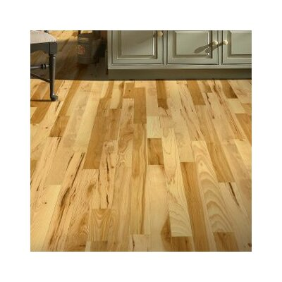 3 Solid Hickory Hardwood Flooring in Country Natural