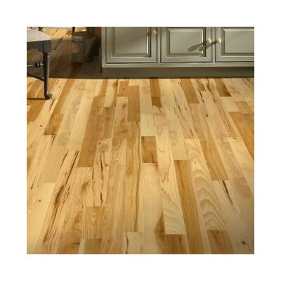 4 Solid Hickory Hardwood Flooring in Country Natural