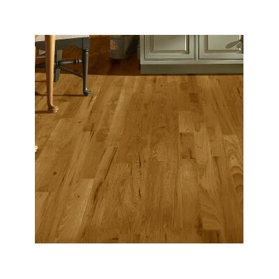 3 Solid Hickory Hardwood Flooring in Oxford Brown