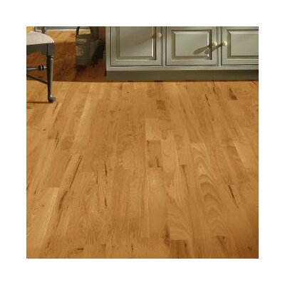 4 Solid Hickory Hardwood Flooring in Smokey Topaz