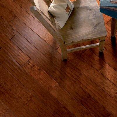 Century Farm Hand-Sculpted 5 Engineered Cherry Hardwood Flooring in Red