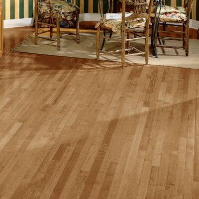 2-1/4 Solid Maple Hardwood Flooring in Toasted Almond